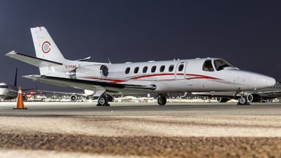 A picture of CFCAG - Cessna 560 Citation Ultra - Chartright Air - © Shon Fridman