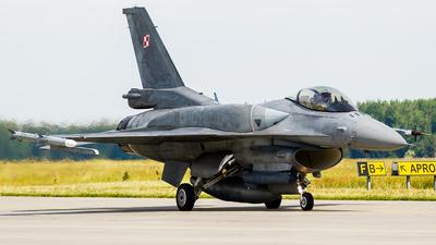4053 - Lockheed Martin F-16C Fighting Falcon - Poland - Air Force