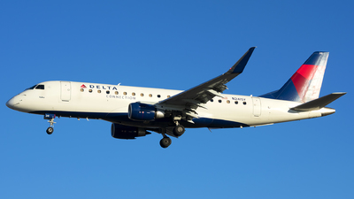 A picture of N241SY - Embraer E175LR - Delta Air Lines - © Michael Rodeback