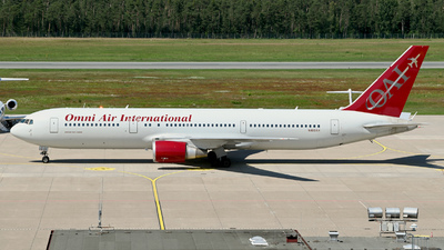 N468AX - Boeing 767-36N(ER) - Omni Air International (OAI)