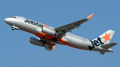 A picture of 9VJSV - Airbus A320232 - Jetstar Airways - © Huang Chengjen
