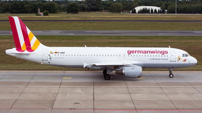 D-AIQD - Airbus A320-211 - Germanwings