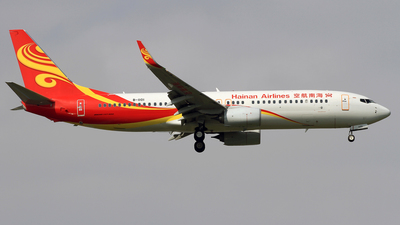 B-1101 - Boeing 737-84P - Hainan Airlines