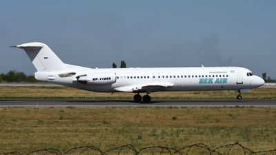 UP-F1009 - Fokker 100 - Bek Air