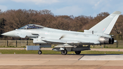 A picture of ZK341 - Eurofighter Typhoon FGR.4 -  - © James Dinsdale