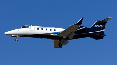 N854ST - Bombardier Learjet 60XR - Private