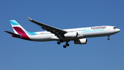 D-AFYR - Airbus A330-343 - Eurowings Discover