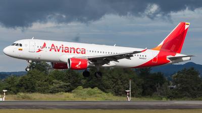 N446AV - Airbus A320-214 - Avianca