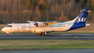ES-ATJ - ATR 72-212A(600) - Scandinavian Airlines (Nordica)
