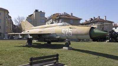 525 - Mikoyan-Gurevich MiG-21bis Fishbed L - Bulgaria - Air Force