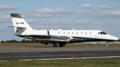 9H-SNB - Cessna 680 Citation Sovereign Plus - Private
