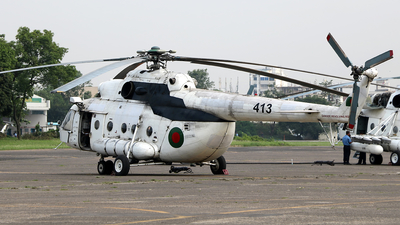 413 - Mil Mi-17 Hip - Bangladesh - Air Force