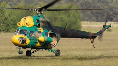EW-124AO - Mil Mi-2 Hoplite - Belarus - DOSAAF