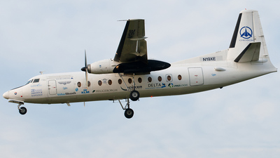 N19XE - Fokker F27-500 Friendship - Private
