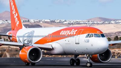 G-UZHA - Airbus A320-251N - easyJet