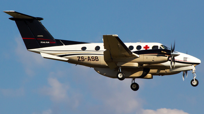 ZS-ASB - Beechcraft B200 Super King Air - Private