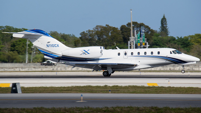 N110CX - Cessna 750 Citation X - Private