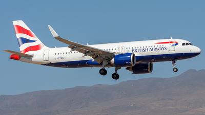 A picture of GTTNE - Airbus A320251N - British Airways - © Adolfo Bento de Urquía