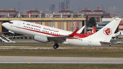 7T-VKS - Boeing 737-7D6C - Air Algérie
