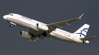 A picture of SXDGY - Airbus A320232 - Aegean Airlines - © Paolo Maggiolo