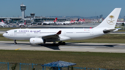 TC-OCK - Airbus A330-243 - Saudi Arabian Airlines (Onur Air)