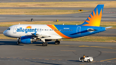 A picture of N333NV - Airbus A319111 - Allegiant Air - © OCFLT_OMGcat