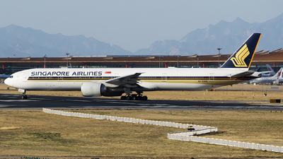 9V-SWG - Boeing 777-312ER - Singapore Airlines