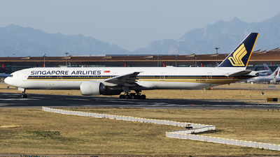 A picture of 9VSWG - Boeing 777312(ER) - Singapore Airlines - © Dream_flight