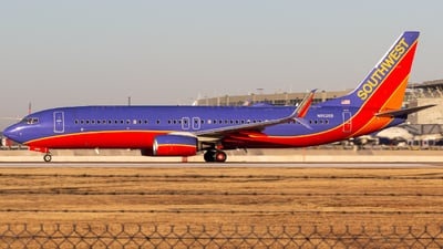 A picture of N8626B - Boeing 7378H4 - Southwest Airlines - © Centex Spotter