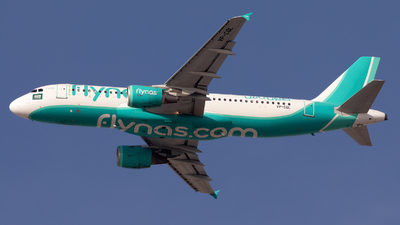 A picture of VPCQL - Airbus A320214 - Flynas - © tonyholt777