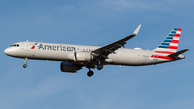 A picture of N408AN - Airbus A321253NX - American Airlines - © Ryan McManus