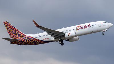 PK-LDG - Boeing 737-8GP - Batik Air