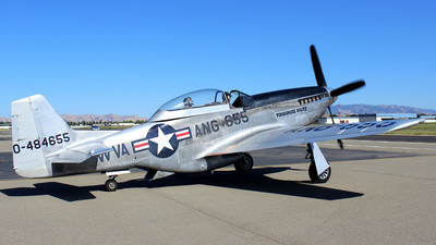 N551CF - North American TF-51D Mustang - Private
