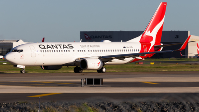 A picture of VHVXD - Boeing 737838 - Qantas - © Brandon Giacomin