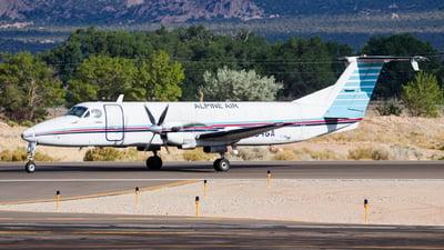 A picture of N154GA - Beech 1900C - Alpine Air Express - © David Lee