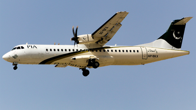 AP-BKX - ATR 72-212A(500) - Pakistan International Airlines (PIA)