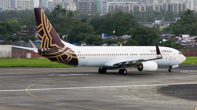 VT-TGF - Boeing 737-85R - Vistara