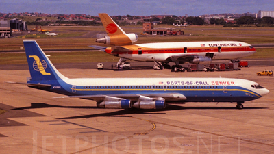 N705PC - Boeing 707-323C - Ports of Call