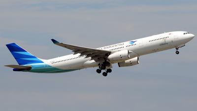 PK-GPU - Airbus A330-343 - Garuda Indonesia