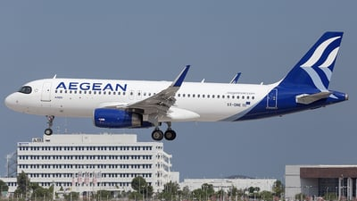 A picture of SXDNE - Airbus A320232 - Aegean Airlines - © Oksana