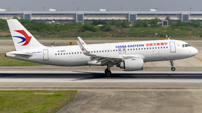 A picture of B30FD - Airbus A320251N - China Eastern Airlines - © ZHOUYIFEI