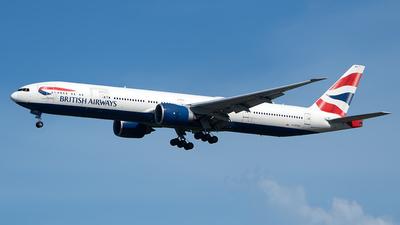 G-STBA - Boeing 777-336ER - British Airways