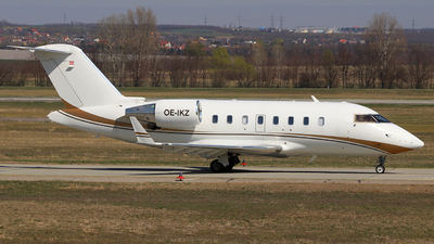 OE-IKZ - Bombardier CL-600-2B16 Challenger 605 - Private Jet International