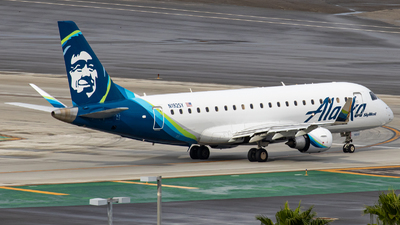 A picture of N192SY - Embraer E175LR - Alaska Airlines - © AirPilot_Photography