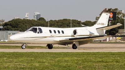 LV-CGO - Cessna 501 Citation SP - Private