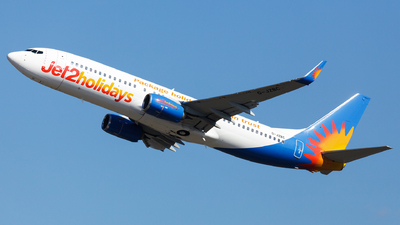 A picture of GJZBC - Boeing 7378MG - Jet2 - © SlowhanD