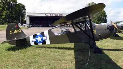 G-BRHP - Aeronca L-3C Grasshopper - Private