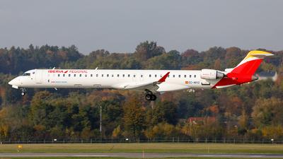 A picture of ECMVZ - Mitsubishi CRJ1000 - Iberia - © Łukasz Stawiarz