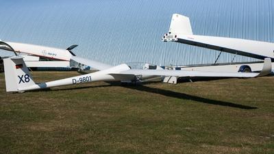D-9801 - Rolladen-Schneider LS-8 - LSC Bayer Leverkusen