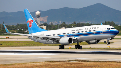 A picture of B5129 - Boeing 73783N - [32884] - © JIN SHENGWEI